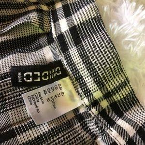 H&M Skirts - H&M Divided Plaid Skirt